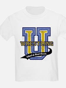 WrestlingU.png T-Shirt