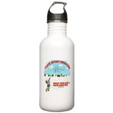 I Love Sport Shooting Water Bottle