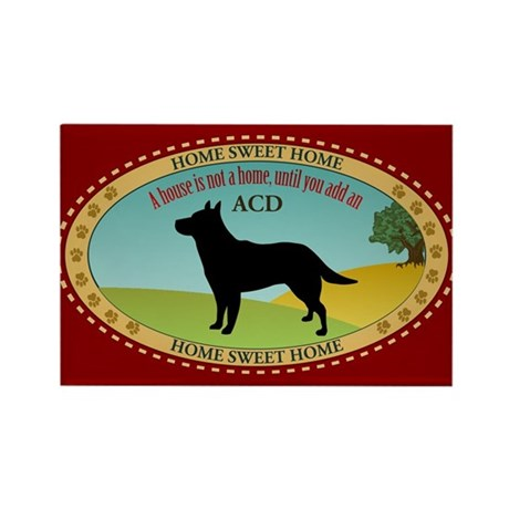 Australian Cattle Dog Rectangle Magnet