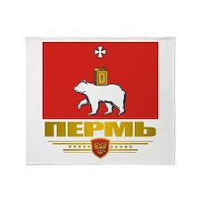Perm Flag Throw Blanket
