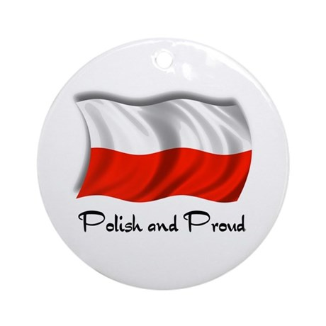 Polish and Proud Ornament (Round)