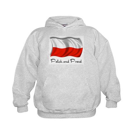 Polish and Proud Kids Hoodie