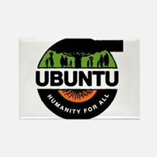New Improved Ubuntu logo Rectangle Magnet (10 pack