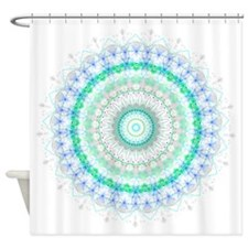Living Green mandala Shower Curtain