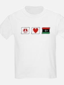 Peace, Love and Libya T-Shirt