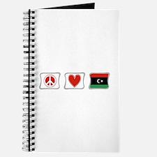 Peace, Love and Libya Journal