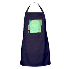 OYOOS Circle Square design Apron (dark)