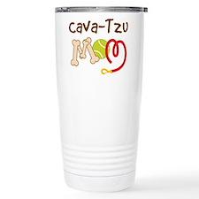 Cava-Tzu Dog Mom Travel Mug