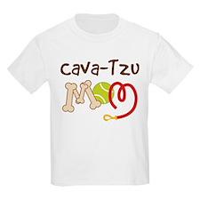 Cava-Tzu Dog Mom T-Shirt