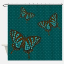 Native Swallowtail Shower Curtain