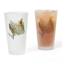 Brown Creeper Drinking Glass