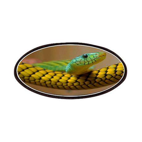 Green Mamba Snake Patches