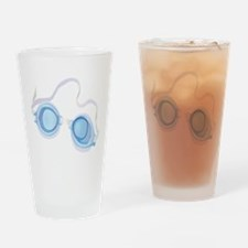 Swimming Goggles Drinking Glass