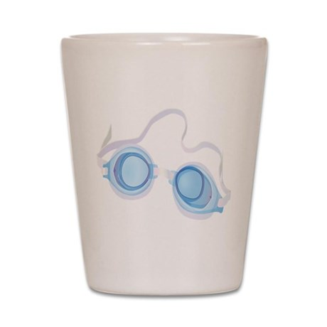 Swimming Goggles Shot Glass