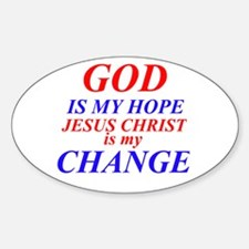 GOD IS HOPE Decal