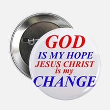 "GOD IS HOPE 2.25"" Button"