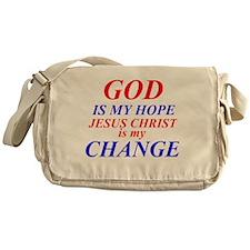 GOD IS HOPE Messenger Bag