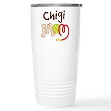 Chigi Dog Mom Travel Mug