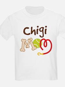 Chigi Dog Mom T-Shirt