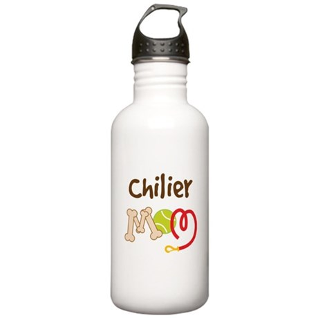 Chilier Dog Mom Stainless Water Bottle 1.0L
