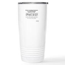 Chemistry - Gods Building Blocks Travel Mug