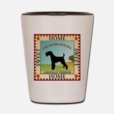 Airedale Shot Glass