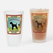 Airedale Drinking Glass