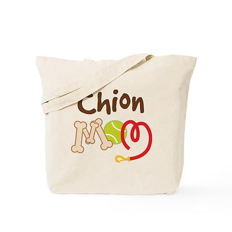Chion Dog Mom Tote Bag