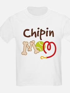 Chipin Dog Mom T-Shirt