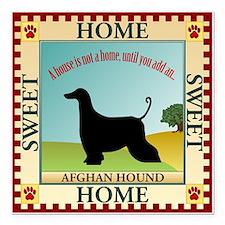 "Afghan Square Car Magnet 3"" x 3"""