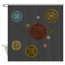 The Zodiac Shower Curtain