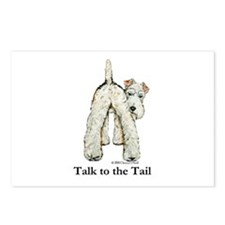 Wire Fox Terrier Tail WFT Postcards (Package of 8)