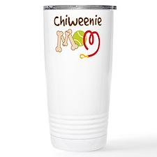 Chiweenie Dog Mom Travel Mug