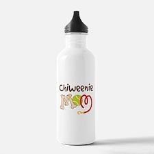 Chiweenie Dog Mom Water Bottle