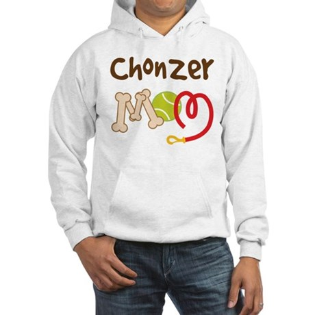 Chonzer Dog Mom Hooded Sweatshirt