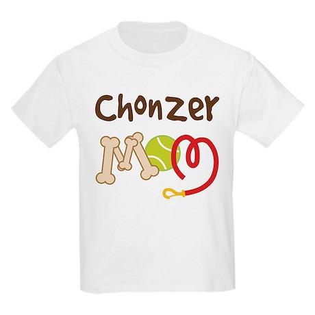 Chonzer Dog Mom Kids Light T-Shirt