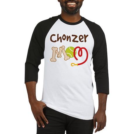 Chonzer Dog Mom Baseball Jersey