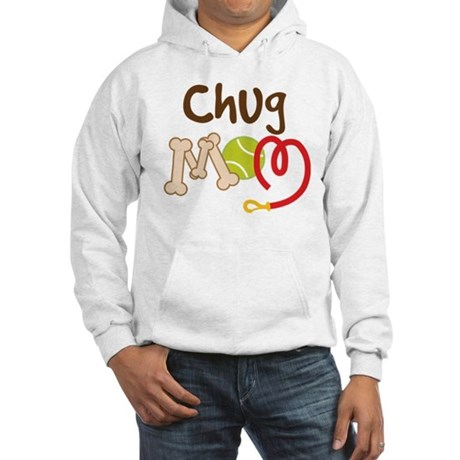 Chug Dog Mom Hooded Sweatshirt