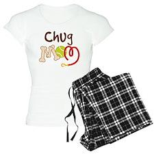 Chug Dog Mom pajamas