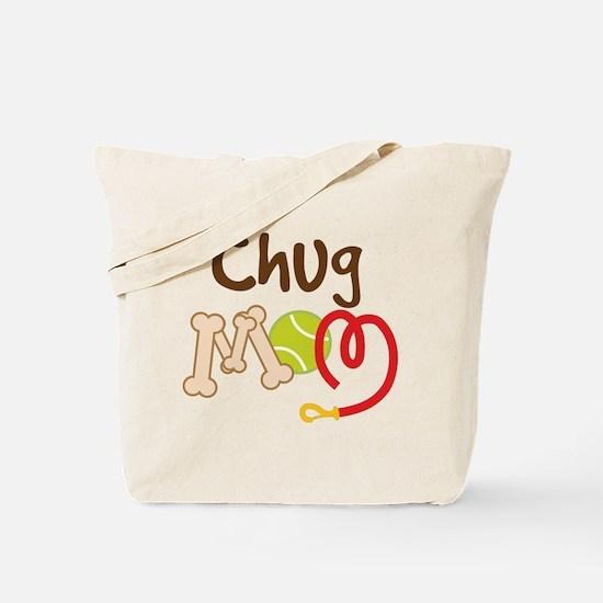 Chug Dog Mom Tote Bag