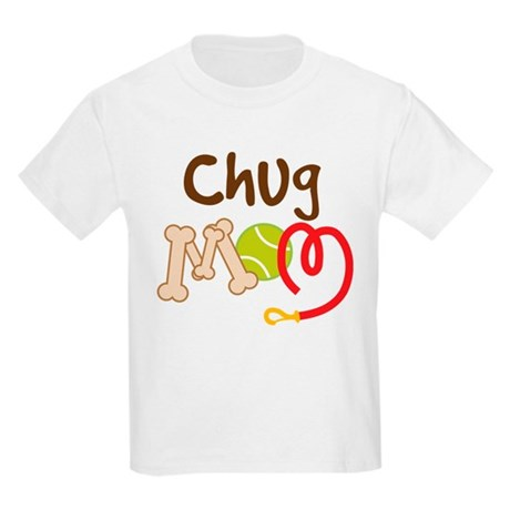 Chug Dog Mom Kids Light T-Shirt