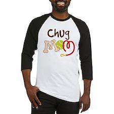 Chug Dog Mom Baseball Jersey