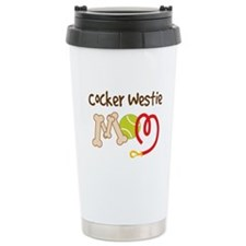 Cocker Westie Dog Mom Travel Mug