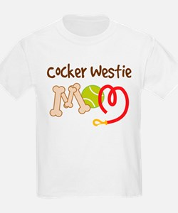 Cocker Westie Dog Mom T-Shirt