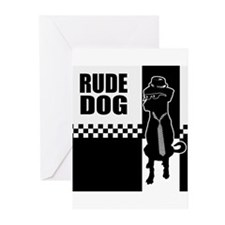 Rude Dog Greeting Cards (Pk of 20)