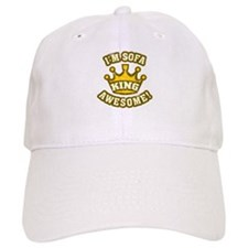 I'm sofa king awesome! Baseball Cap