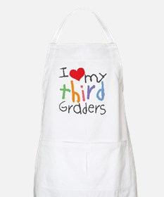 I Love My 3rd Graders BBQ Apron