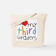 I Love My 3rd Graders Tote Bag