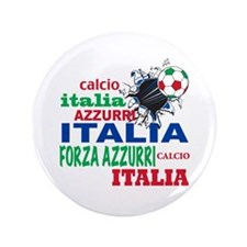 "Italian World Cup Soccer 3.5"" Button"