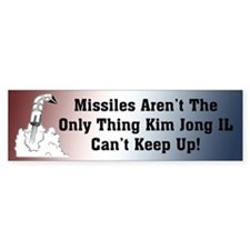 North Korea Missile's Bumper Bumper Sticker